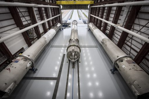 Falcon 9 Family Portrait (20, 23, 24) - Photo: SpaceX
