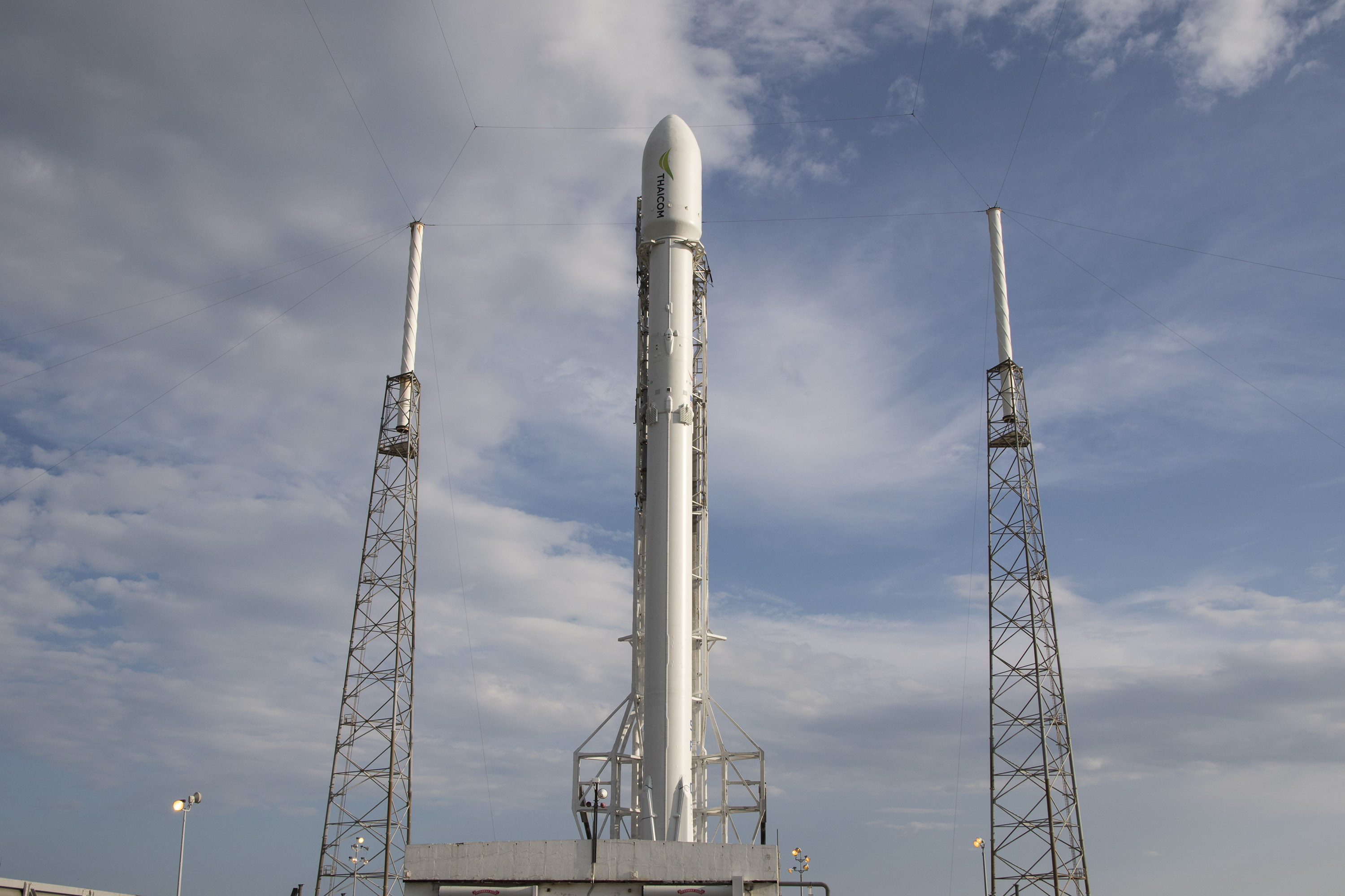 SpaceX Falcon 9 cleared for Thaicom 8 Launch, High-Energy ...