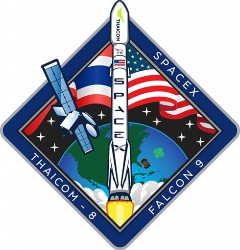 Thaicom-8 Patch