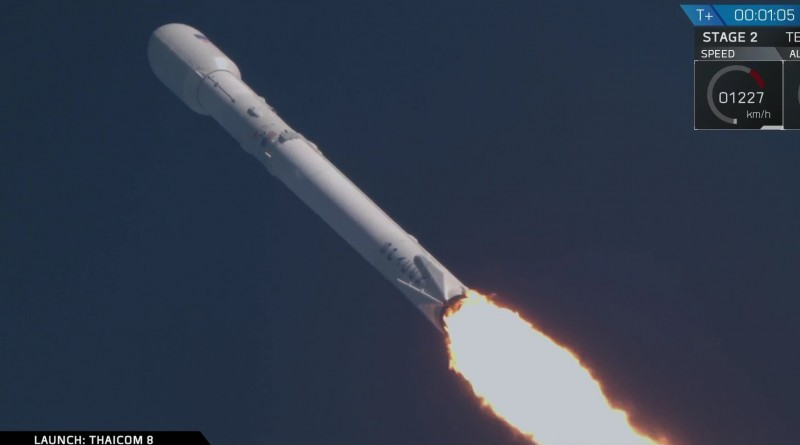 thaicom8 launch 1-4