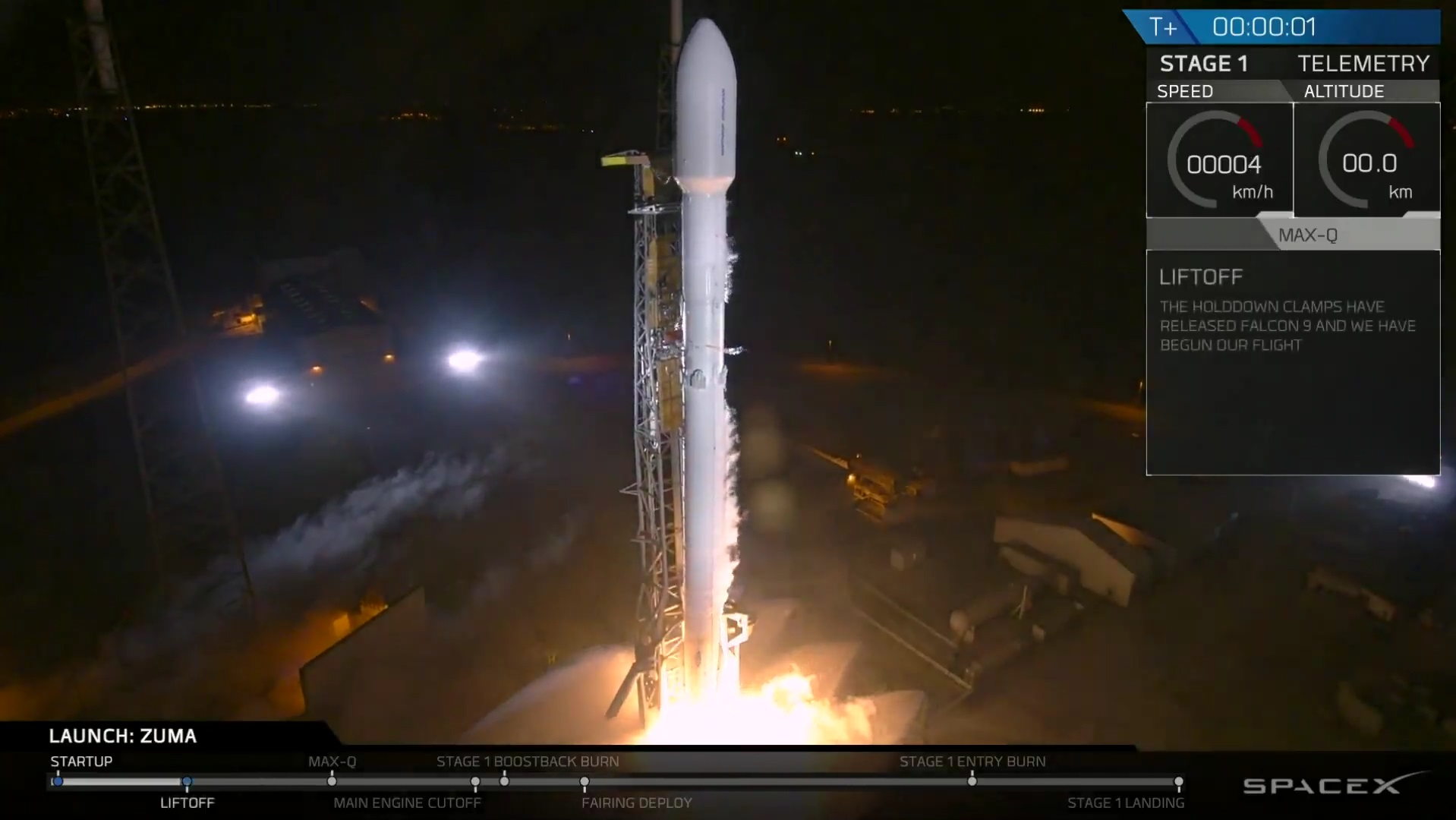 photo spacex webcast