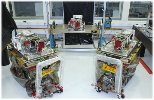 EXIS Units for GOES-R, S, T - Photo: LASP