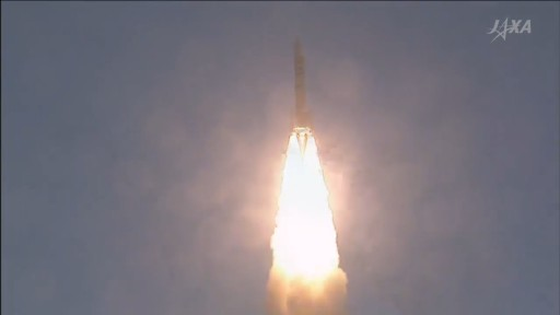 Photo: JAXA Launch Broadcast