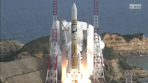 Photo: JAXA/MHI Webcast
