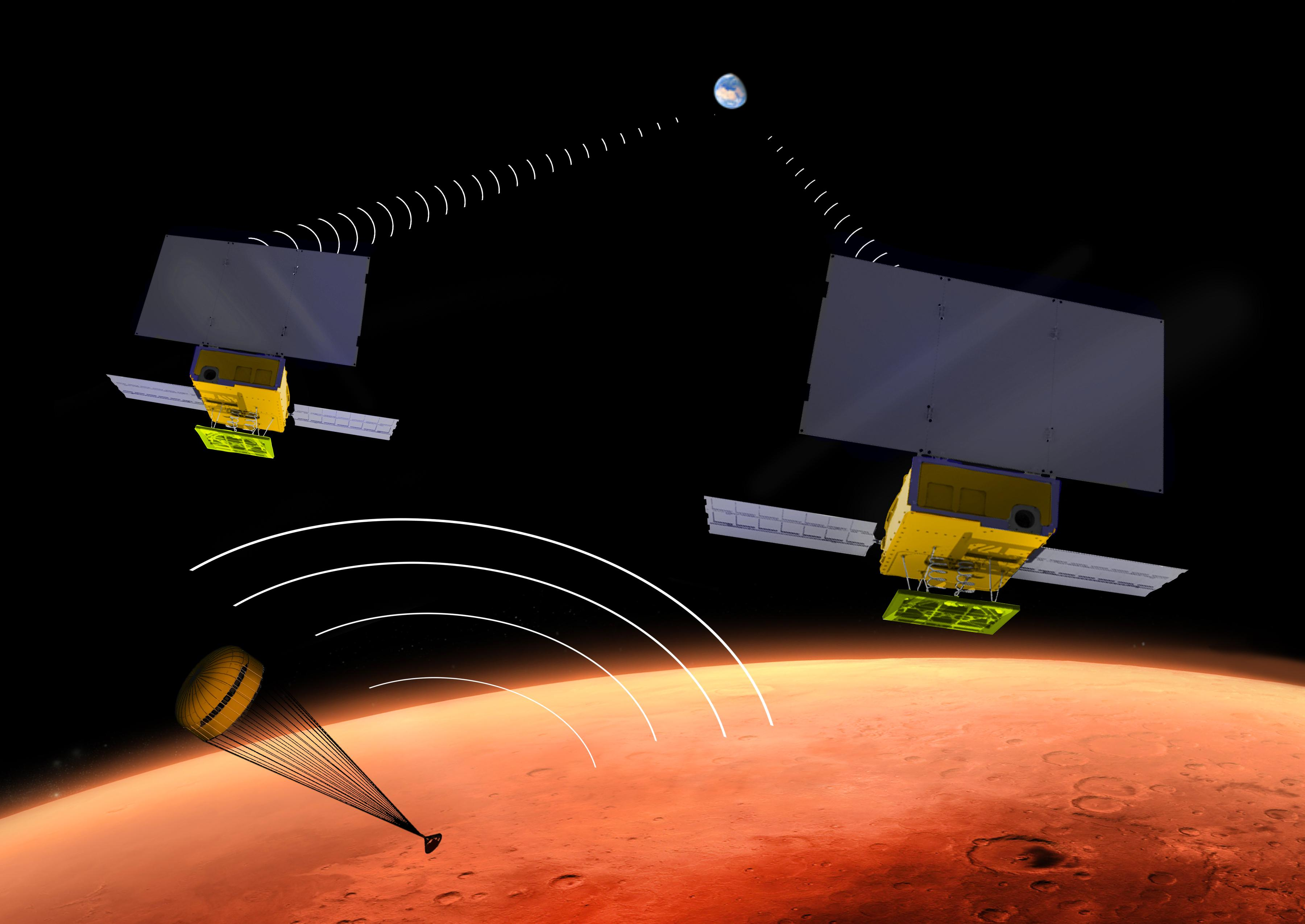 MarCO – InSight | Spaceflight101