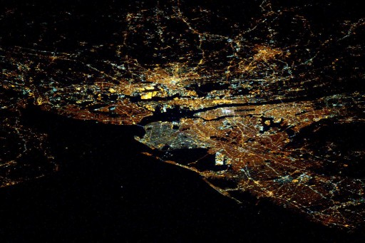 New York seen from ISS - Photo: NASA