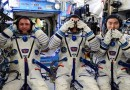 Soyuz Trio set for rare Nighttime Landing on Friday