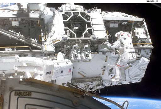 ISS Mobile Transporter during Installation - Photo: NASA