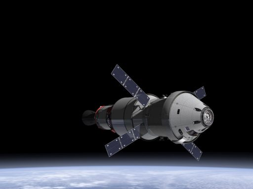 Aiming for Distant Destinations: NASA's Orion Spacecraft - Image: NASA