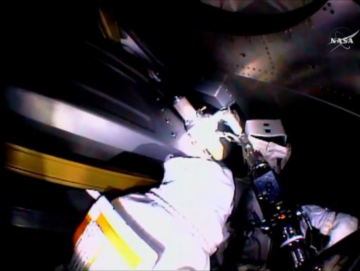 NPV Installation - Photo: NASA TV