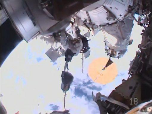 Image: NASA TV