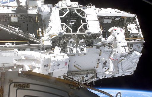 ISS Mobile Transporter during Installation – Photo: NASA