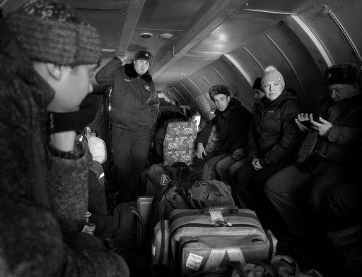 NASA's Recovery Team - Photo: NASA/Bill Ingalls