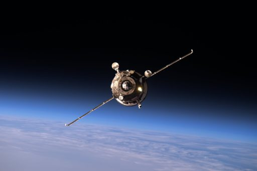 Progress MS-02 on Approach to ISS - Photo: NASA