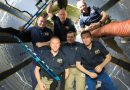 International Crew Trio to set sail on Return Journey after Half-Year Space Mission