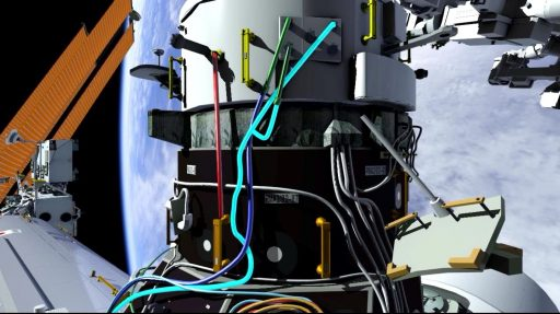 IDA-2 Cables - Image: NASA