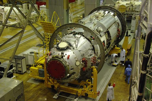 MLM during Processing - Photo: Roscosmos