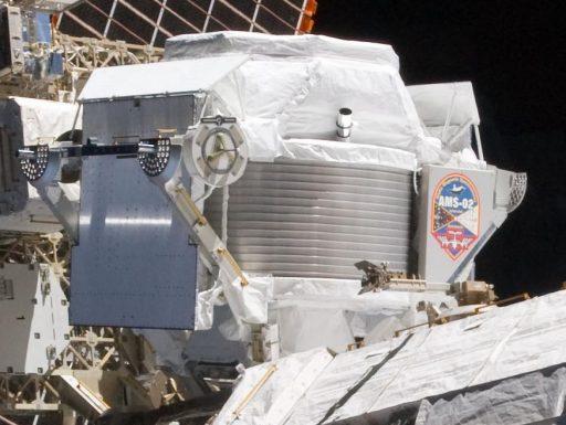 AMS-2 - Photo: NASA