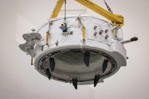 IDA-2 during integration with Dragon - Photo: NASA