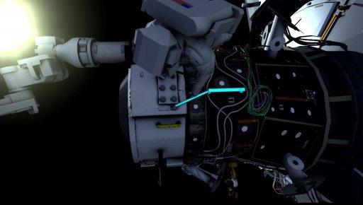IDA-2 Tethers - Image: NASA