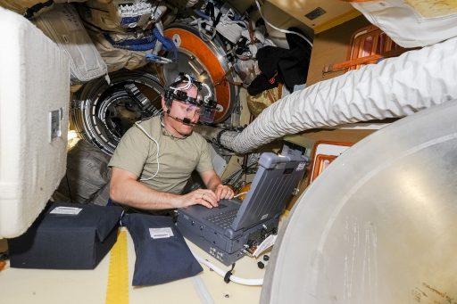 Science aboard the Russian Segment - Photo: Oleg Artemyev