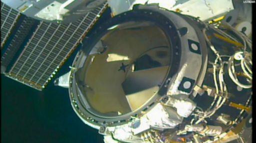 PMA-2 Close-Up - Photo: NASA TV