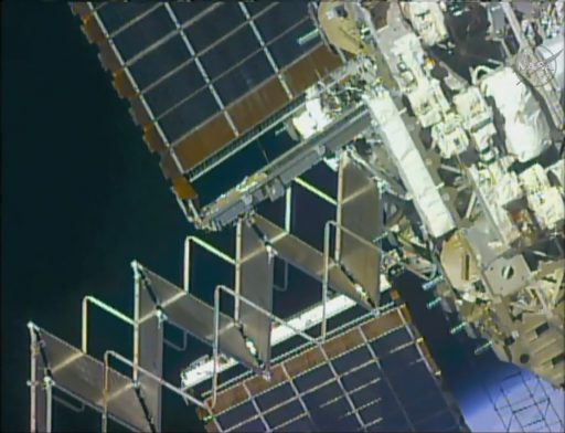 2015 TTCR Retraction - Photo: NASA TV
