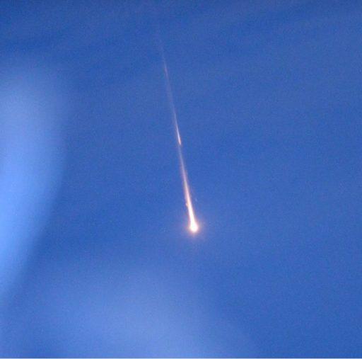 Progress MS-02 Re-Entry - Photo: NASA