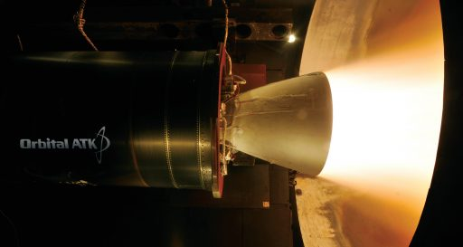 Castor 30XL Test Firing - Photo: Orbital ATK