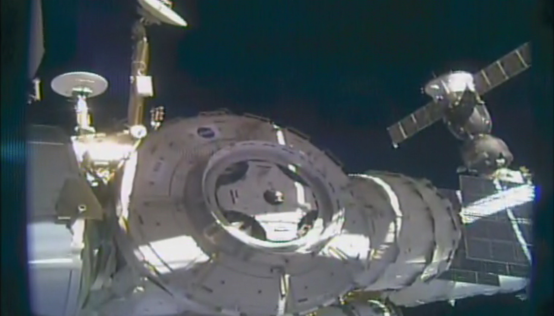 Iss Docking Module Relocates To Establish Second