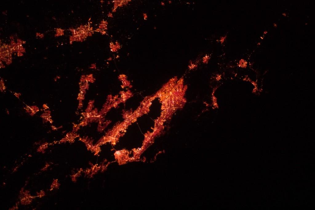 California 'Bay Area' at Night