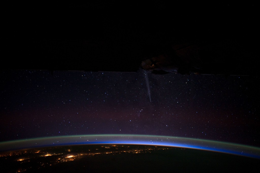 Comet Lovejoy and Chile at Night