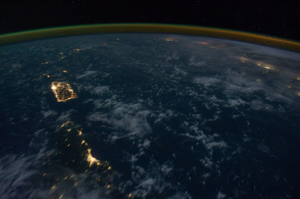 Eastern Caribbean at Night