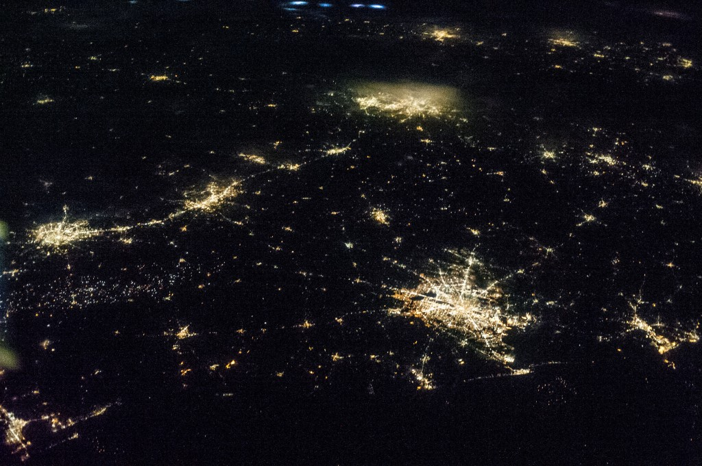 Eastern Texas at Night