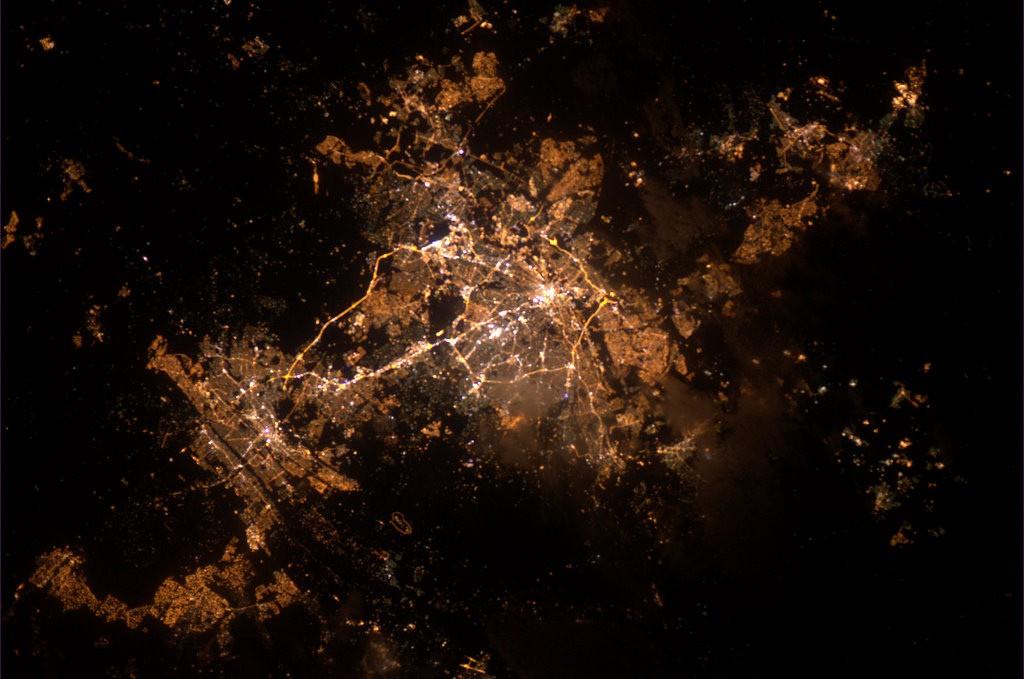 Johannesburg at night,