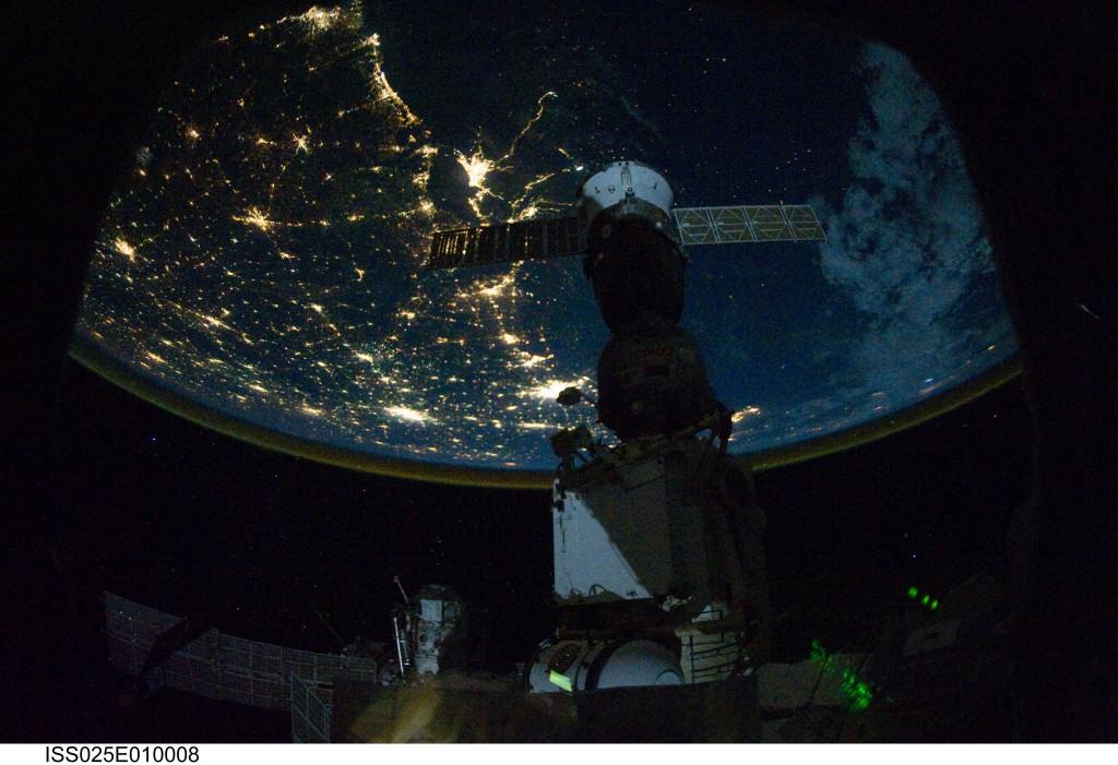 Northern Coast, Gulf of Mexico at Night