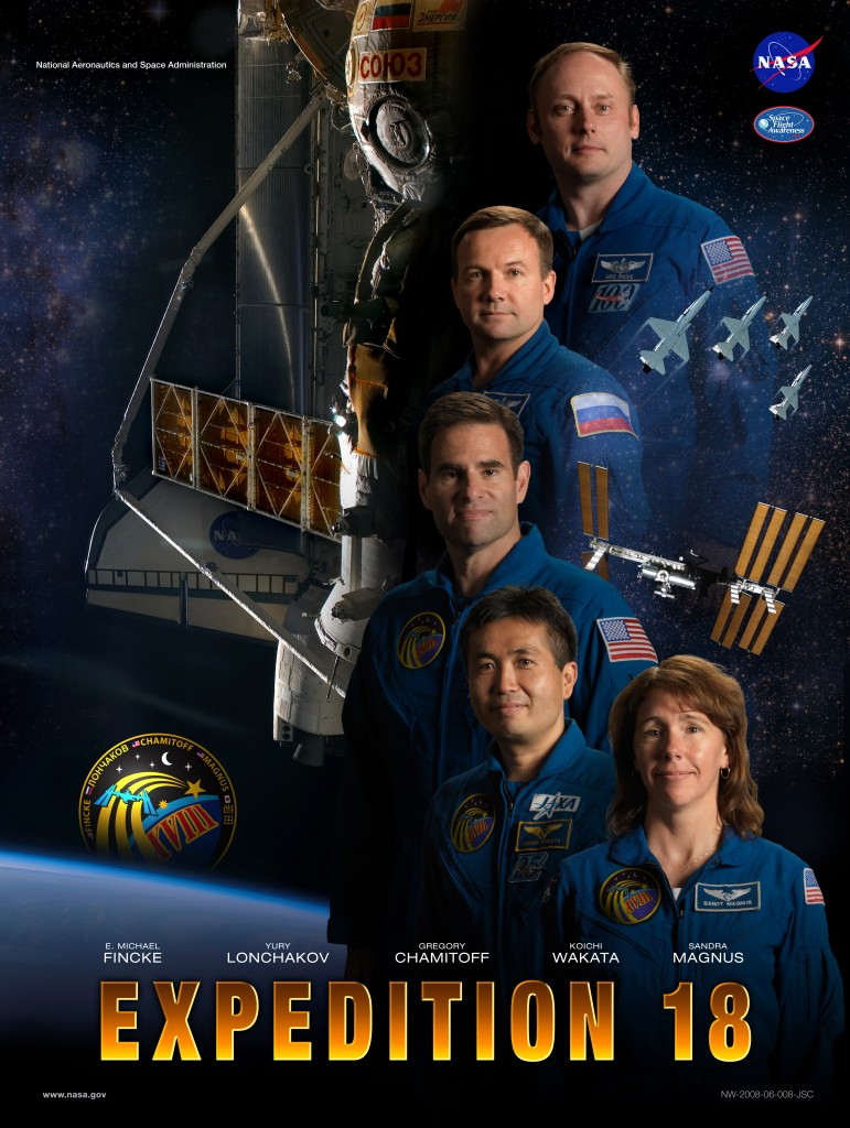 Expedition 18 crew poster