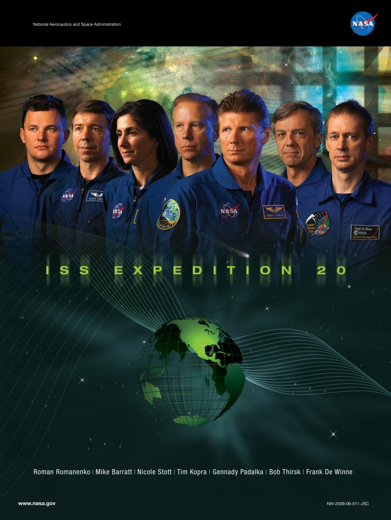ISS Expedition 20 Mission Poster