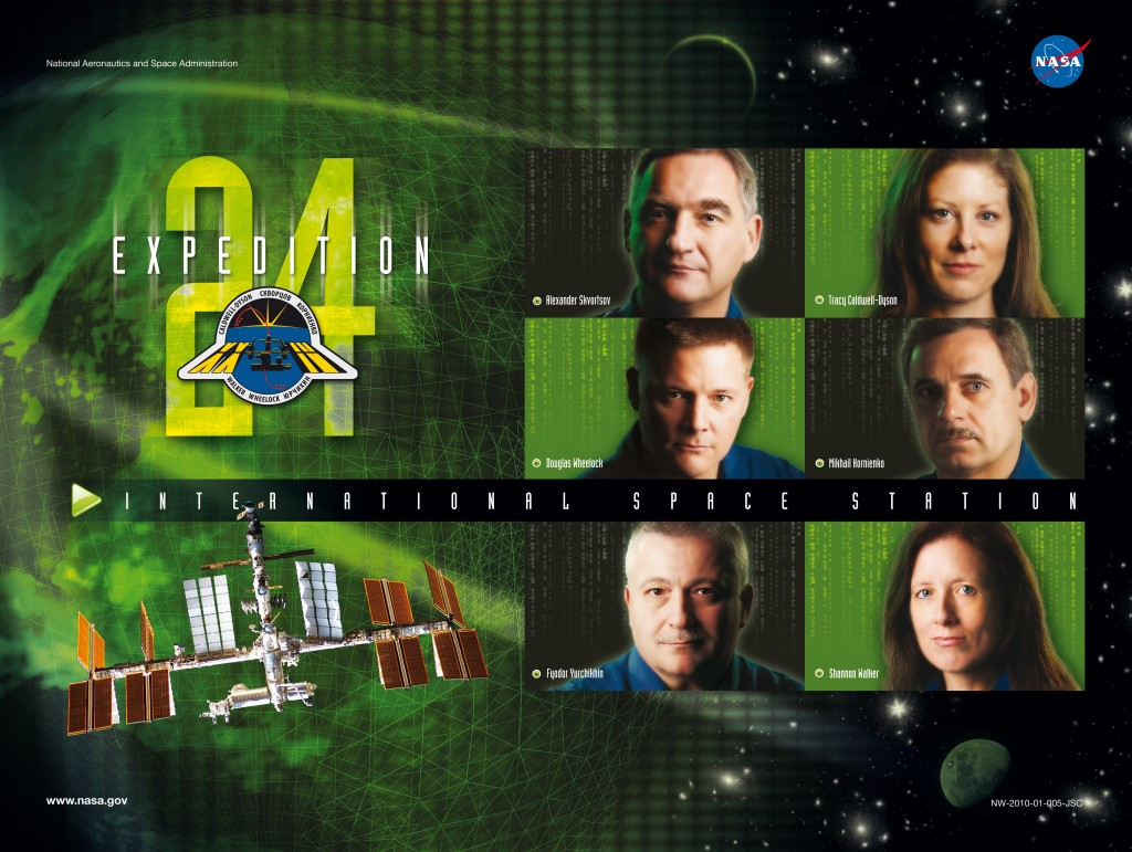Expedition 24 crew poster