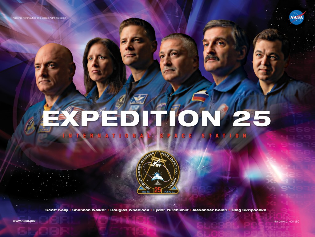 Expedition 25 Mission Poster