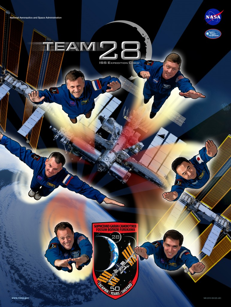 Expedition 28 crew poster