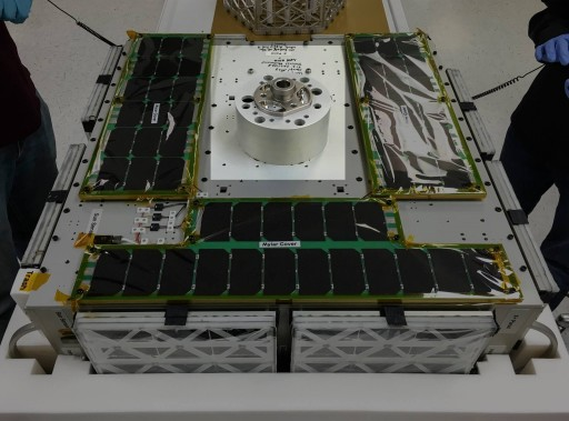 AggieSat4 Packaged for Launch - Photo: Texas A&M
