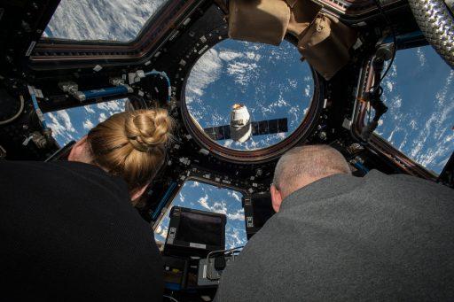Dragon's Arrival - Photo: NASA