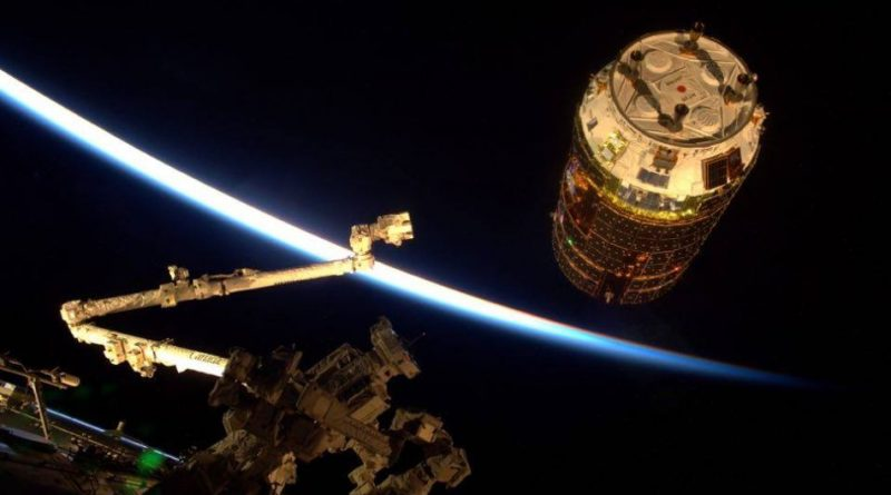Japanese HTV-6 Resupply Craft arrives at Space Station for critical Cargo Delivery