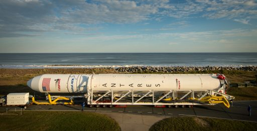 Antares Rollout - Photo: NASA