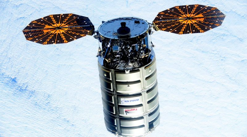 Cygnus OA-7 Supply Ship on Course to Space Station for Saturday Arrival