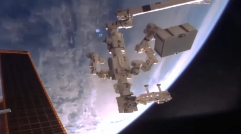 ISS Robots work Overtime replacing first Batch of Batteries ahead of Friday Spacewalk