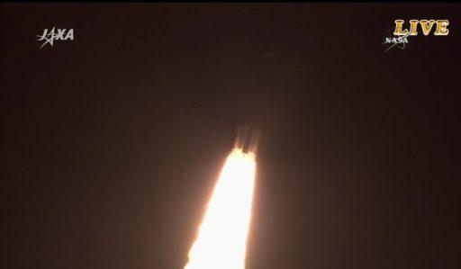 Photo: JAXA/NASA TV