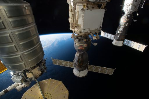 Family Portrait: Cygnus, Soyuz & Progress - Photo: NASA