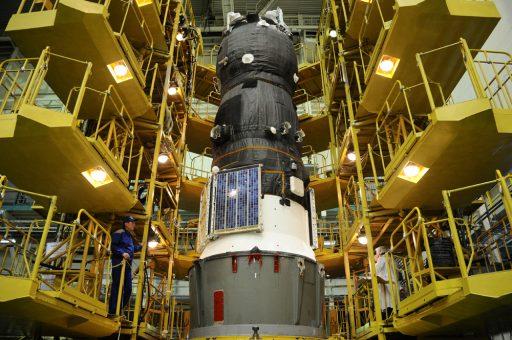 Progress MS-03 during final Processing - Photo: RSC Energia